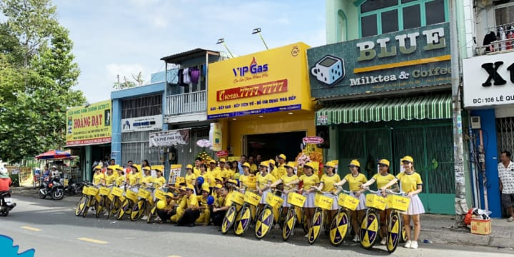 Dịch vụ tổ chức chạy roadshow tại Bến Tre
