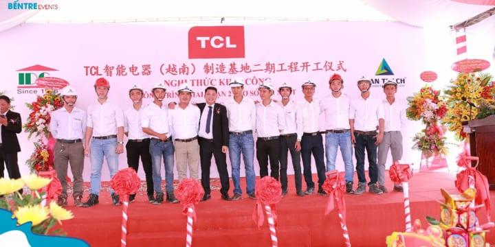 Công ty tổ chức sự kiện lễ khởi công tại Bến Tre